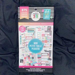 Planner Basic sticker book